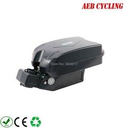 Ebike akumulator litowo-jonowy 36 V 10Ah małe f rog siedzenia rury akumulator do grubej opony rower miejski rower z ładowarką