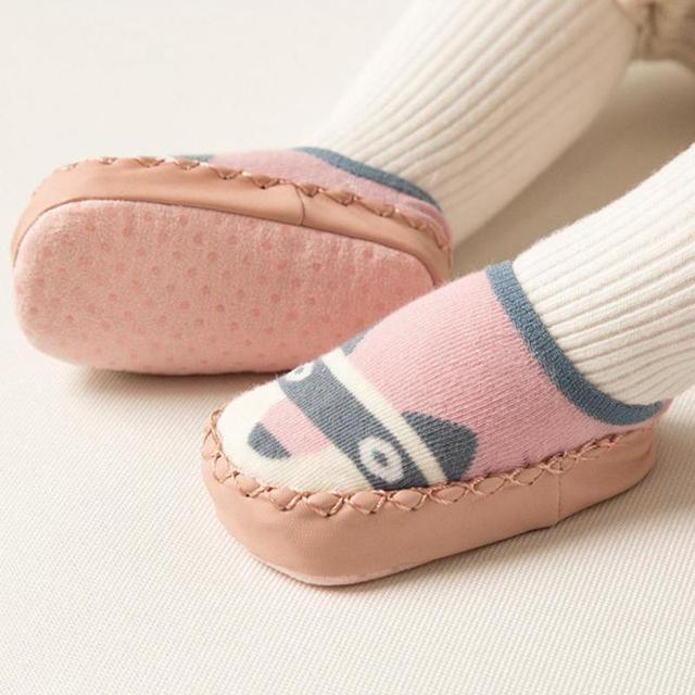 New Baby Shoes Socks Cartoon Socks Infant Baby Gift Kids Indoor