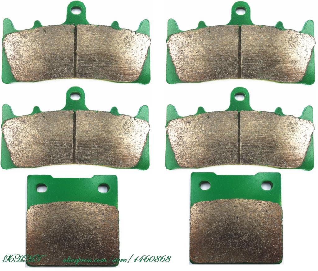 Brake Pads Set For Suzuki Gsx-R1300 Gsxr Gsx-R 1300 Hayabusa Racing Applications 1999 2000 2001 2002 2003 2004 2005 2006 2007