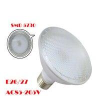 1X Free Shipping Led Outdoor Par38 Lights Waterproof 110V 220V 15W Par38 Led Spot E27 Base