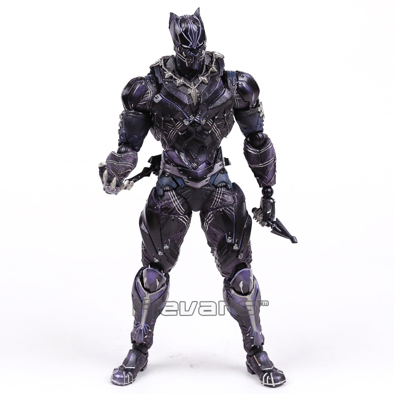 VARIANT Paly Arts Kai Marvel Universe Black Panther PVC Action Figure Collectible Model Toy with Retail Box