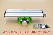Multifunción mini taladro de banco tornillo de banco mesa fresadora stent BG6300 1 unids