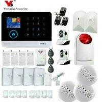 Yobangsecurity 3G WI FI сигнализации Системы дома Охранной Сигнализации комплект Беспроводной приложение Дистанционное управление с видео ip Камера
