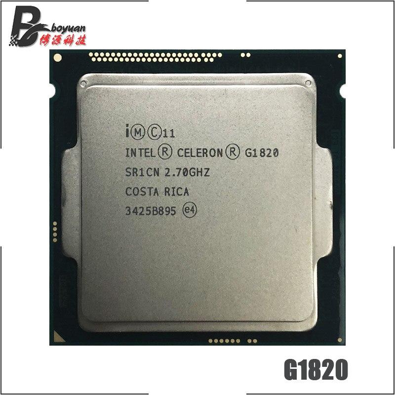 Intel Celeron G1820 2,7 GHz Dual Core CPU Prozessor 2 M 53 W LGA 1150-in CPUs aus Computer und Büro bei AliExpress - 11.11_Doppel-11Tag der Singles 1