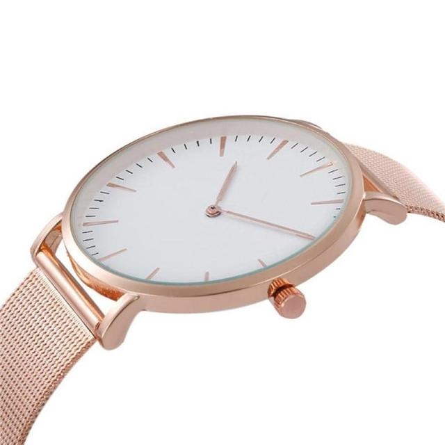 Women Watches Montre Femme  Classic Casual Watch Fashion Silver Stainless Steel Business    Watch Women 18MAY22