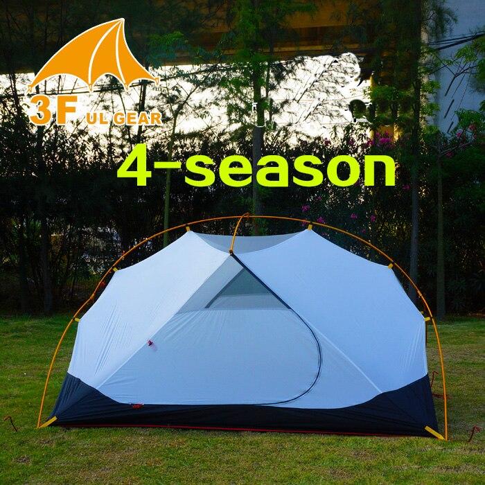 3F ul Vitesse 4 Saison 2 Personne Tente Vents Ultralight Camping Tente Corps Pour MME Hubba Tente Intérieure