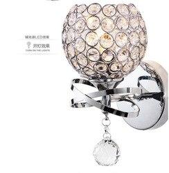 Nowoczesna cząsteczka LOFT kinkiet bean glass ball kinkiet LED okrągła kula Foyer sypialnia lampka nocna na ścianę w korytarzu