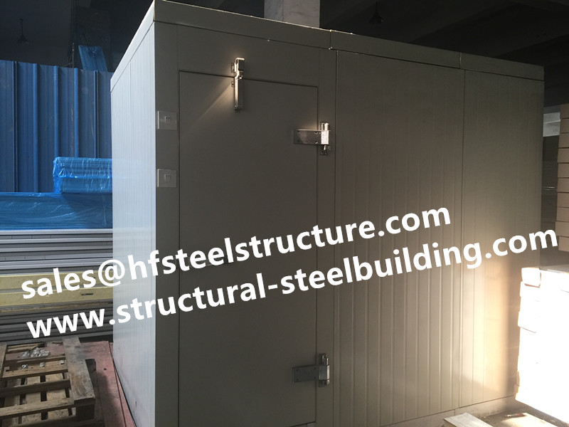 Fire Resistant PU Sandwich Panel With Color Coated For Blast Room
