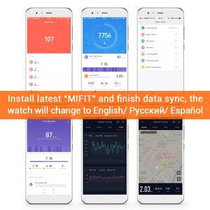 Image 5 - Huami Amazfit Bip Astuto di GPS Della Vigilanza Smartwatch Android iOS Monitor di Frequenza Cardiaca di 45 Giorni di Durata Della Batteria IP68 Sempre  in Mostra