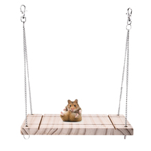 Hamsters Swing Toys Pet Wooden / Guinea Pigs Chinchilla Mascota Small Animals on Free Shipping