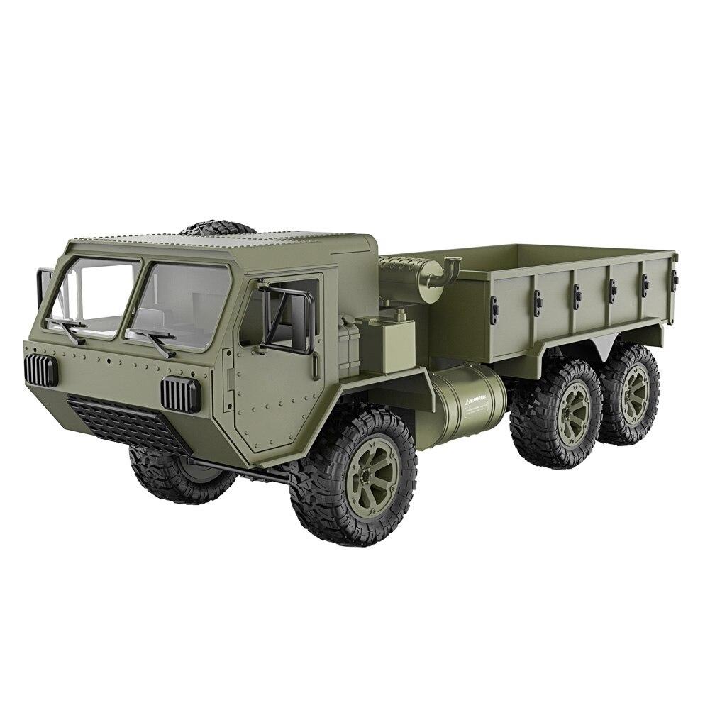 1/16 2.4G 6WD RC voiture contrôle proportionnel armée militaire camion modèle jouets enfants cadeau YH-17