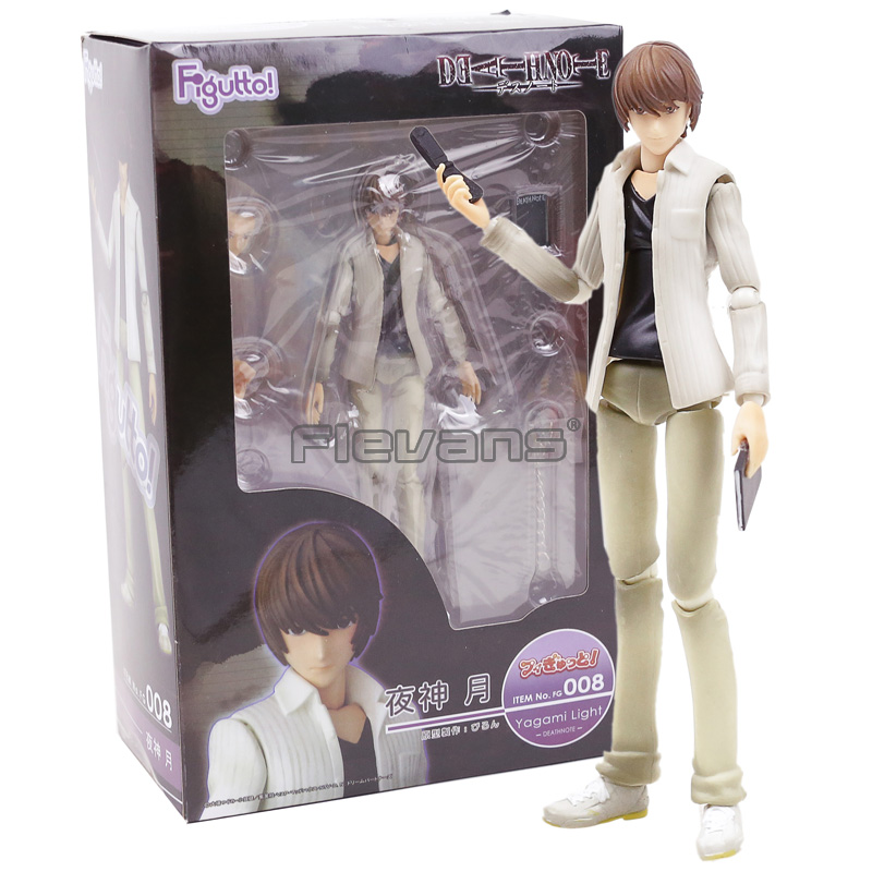 Figutto!!Death Note #008 Yagami Light / #009 Ryuk PVC Action Figure Toy Figma Collection Model недорго, оригинальная цена