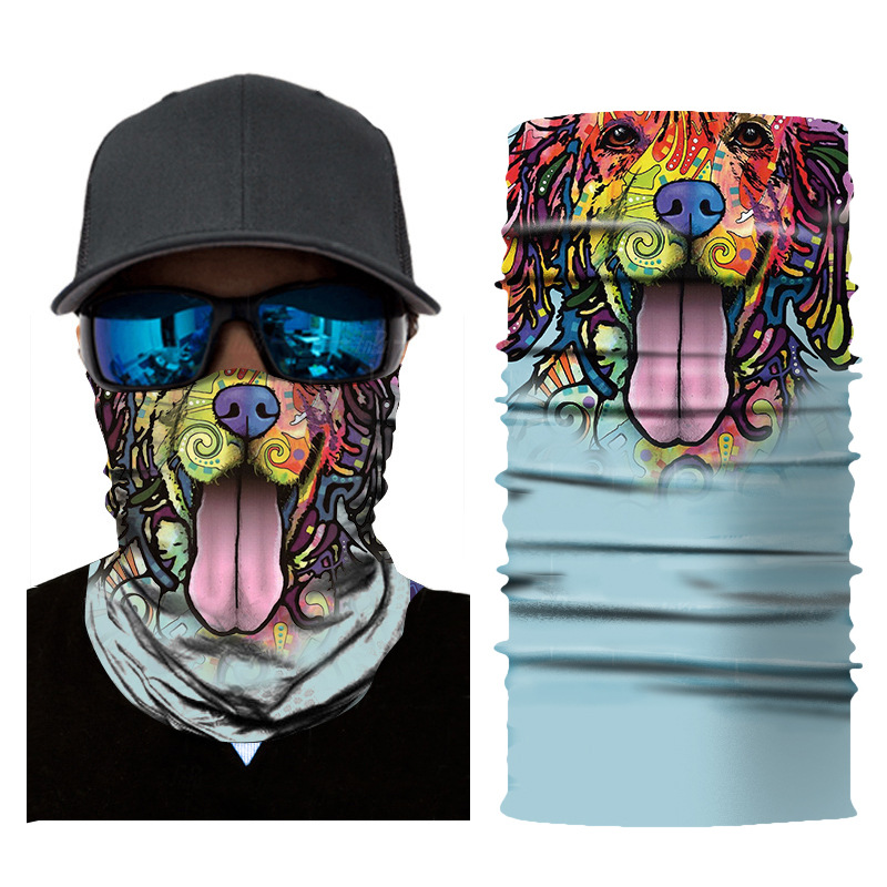 3D Animal Seamless Balaclava Scarf 20