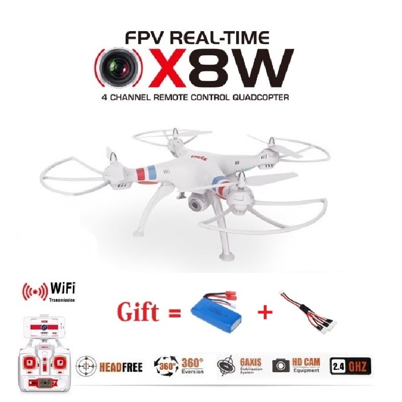 Syma X8W & X8C Upgrade Version FPV WiFi Camera Drone 2.4G 4ch 6 Axis RC Quadcopter With 2MP Wide Angle Camera RTF RC Helicopter jjr c jjrc h43wh h43 selfie elfie wifi fpv with hd camera altitude hold headless mode foldable arm rc quadcopter drone h37 mini