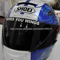 Hot sale marc marquez Lens helmet motorcycle Sticker Decals Waterproof Reflective 16