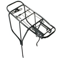 OUTERDO Steel MTB Mountain Bike Rear Rack Load Capacity Up To 50kg Bicycle Racks Cycling Rear