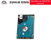 12 2019V najnowsze pełne oprogramowanie dla MB gwiazda C4 MB gwiazda C5 320G HDD 256G SSD wersja oprogramowania zainstalowany pasuje do większości laptopów tanie tanio ITCARDIAG Metal 2019 09 mb star C3 C4 C5 software HDD 10inch