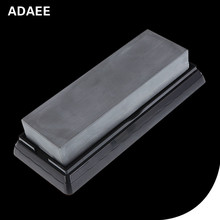 Adaee Professional Natural Black Sand Single Side Grinding Stone 5000 Grit For Razor Pedicure knife h1