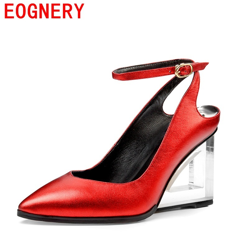 egonery women leather pumps for women high heel pointed toe wedding shoes 3 color fashion pumps woman high quality party shoes egonery women fashion pumps for summer pointed toe low heel shoes hollow pumps out side footwear elegant shoes woman plus size
