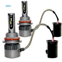 Automobiles Waterproof 2Pcs Set Car Headlights CSP Led Light Bulbs 9004 9007 Headlamp 6000K Fog Lamps