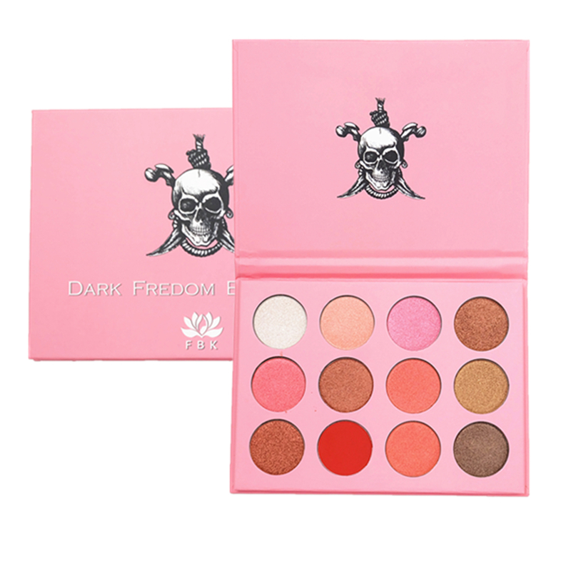 Brand 12 Colors 3D Eyeshadow Pallete Professional Pro Warm Makeup Pallete face Matte Eyeshadow Palette
