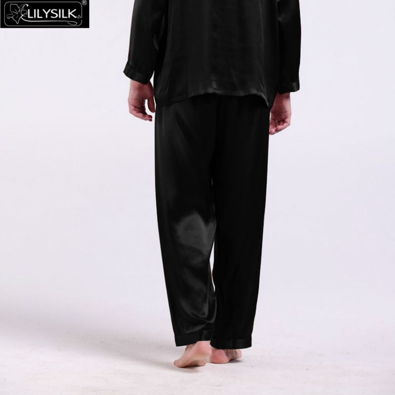1000-black-22-momme-long-silk-pants-for-men-01