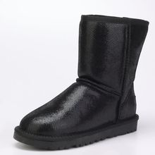 2016 new high quality Australian wool leather boots and leather boots boots wholesale slip in