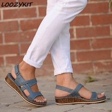 LOOZYKIT Torridity Size Sandals Comfortable
