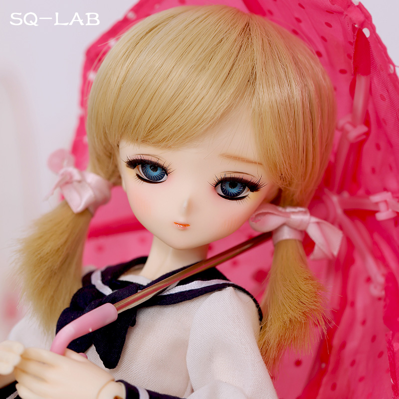 OUENEIFS SQ chibi Lab_Tsubaki 31cm 1/6 bjd resin model baby girls boys dolls eyes High Quality toys shop