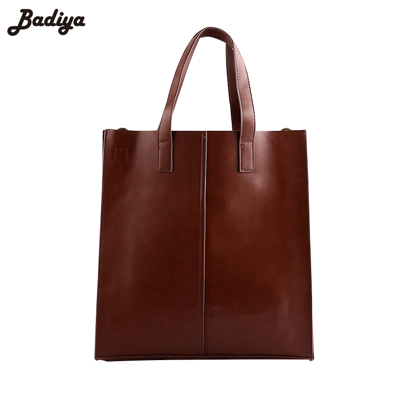 Men's Large Capacity Casual Brief  Tote Bag PU Leather Handbags For Man Brief Design Solid Single Shouder Bags wholesale blanks pu faux leather handbags casual tote bag large capacity square satchels bag dom1038113