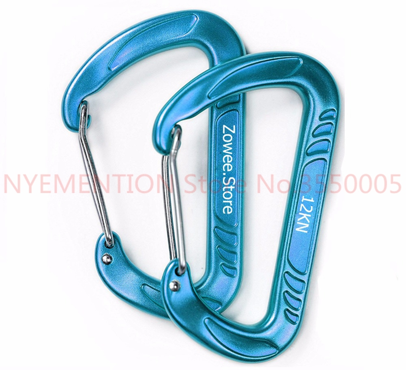 Hammock Carabiner Survial Key Chain Carabine Hook Clip Camping Equipment Paracord Buckles for Outdoor Camping 50pcsHammock Carabiner Survial Key Chain Carabine Hook Clip Camping Equipment Paracord Buckles for Outdoor Camping 50pcs