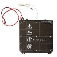 3d Printer Parts DIY 3d printer heated bed Magnetic MK52 Heatbed 24V / 12V assembly