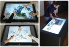 27 inch dual touch USB IR touch screen / panel/ IR dual touch frame / infrared touch screen overlay kit