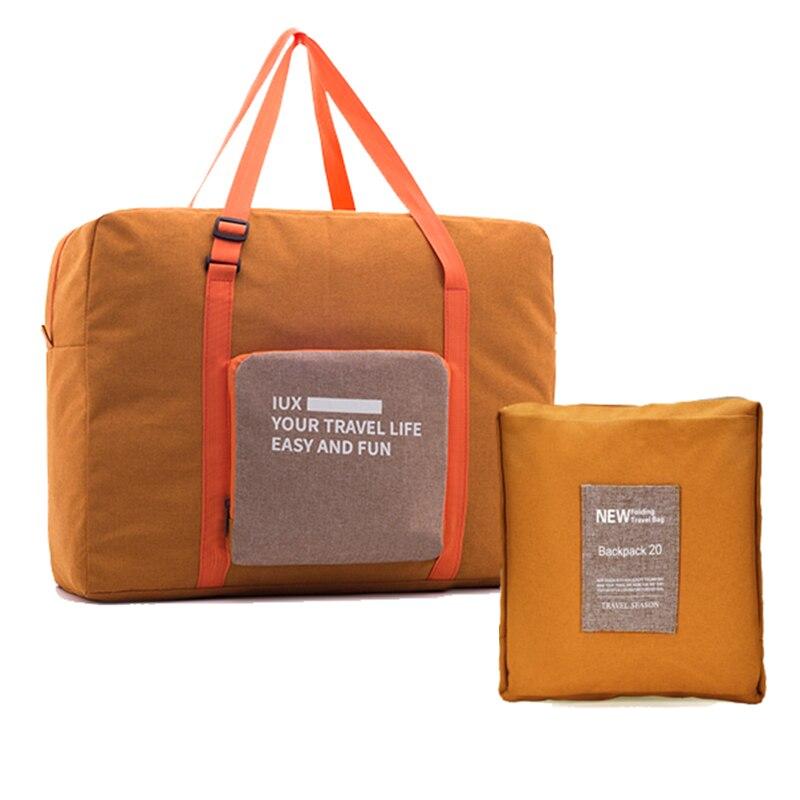 2018 Large Capacity Bag Women Folding Luggage Travel Bag Unisex Travel Handbags Travel Bag Women Nylon Bags Bolsas Fashion hot women shoulder bags leather nylon fold bag folding nylon tote bag travel school shopping handbags hasp bolsas hobos feminina