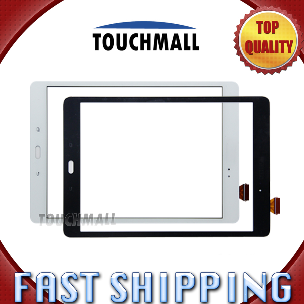 For New Touch Screen Digitizer Glass Replacement Samsung Galaxy Tab A SM-P550 P550 P551 P555 9.7-inch White Black Free Shipping free tools replacement for samsung galaxy tab s 10 5 sm t800 touch screen digitizer replacement white track code