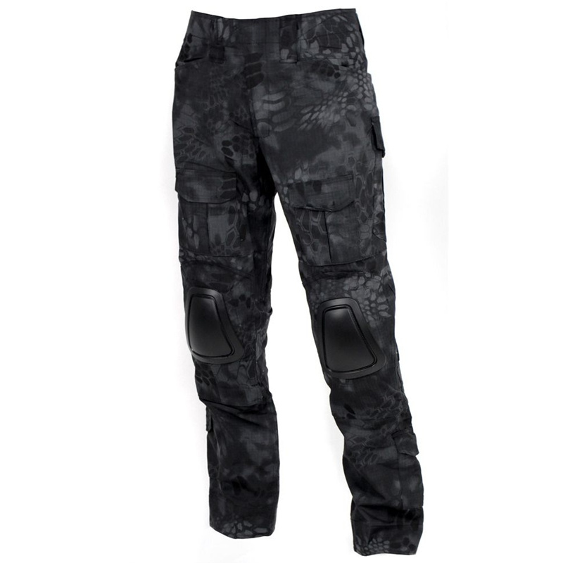 CQC Tactical Pants Gen2 Military Army Hunting Airsoft Paintball Men Cargo Camouflage BDU Combat Pants With Knee Pads Typhon camouflage tactical military clothing paintball army cargo pants combat trousers multicam militar tactical shirt with knee pads