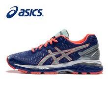 0e4ea51487 ASICS originais GEL-KAYANO 23 Noite Estabilidade Almofada tênis de Corrida  das Mulheres Calçados Esportivos Tênis de caminhada A..