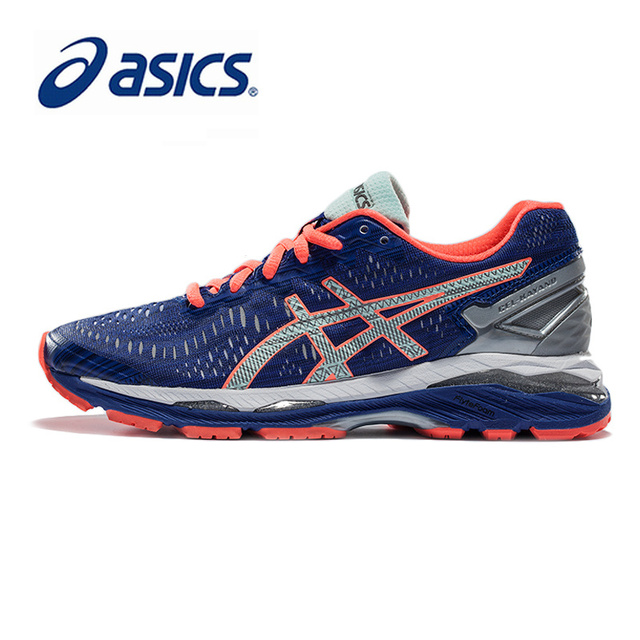 a7ea3da15de6 Original ASICS GEL-KAYANO 23 Night Running Women s Cushion Stability Sports  Shoes Sneakers Outdoor walking Athletic T6A6N-4593
