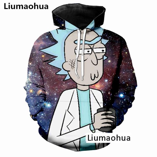 Liumaohua New  Autumn New Men/Women Sexy Sweatshirt Pullovers Shy Girl 3d Print Tracksuit tops Harajuku Anime Ahegao Hoodies