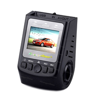 A118C Type Car Tachograph NTK96650 Car DVR Driving Recorder with G Sensor Records 170 Degree Super Wide and 6P Lens