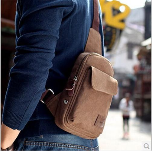 Whole Sport Hiking Sling Canvas Shoulder Men Crossbody Bag Unbalance Back Pack Travel Messenger Handbag In Bags From Luggage On