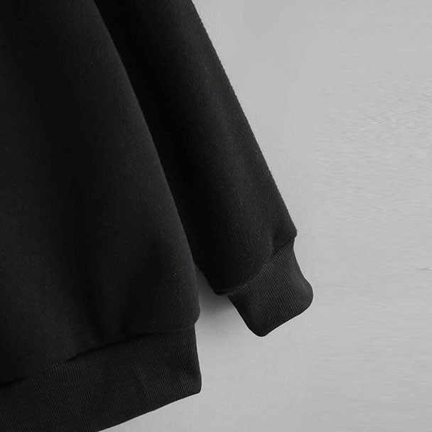 Chamsgend Wanita Kaus Tricolor Patchwork Kpop Leher Bulat Lengan Panjang Fashion Wanita Pullover Atasan Sweatshirt 2019 F721