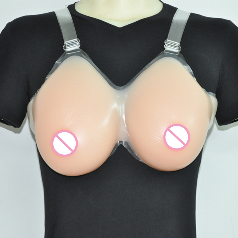 Promotion!!! Huge False Breast Artificial Breasts Fake Boobs Realistic Silicone Breast Forms Crossdresser Skin Color 6000g fake silicon breasts 2000g huge boobs