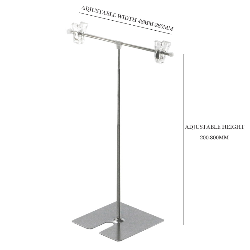 Price Holder Reatail Sign Holder Adjustable Height Literature Price Tag Holder