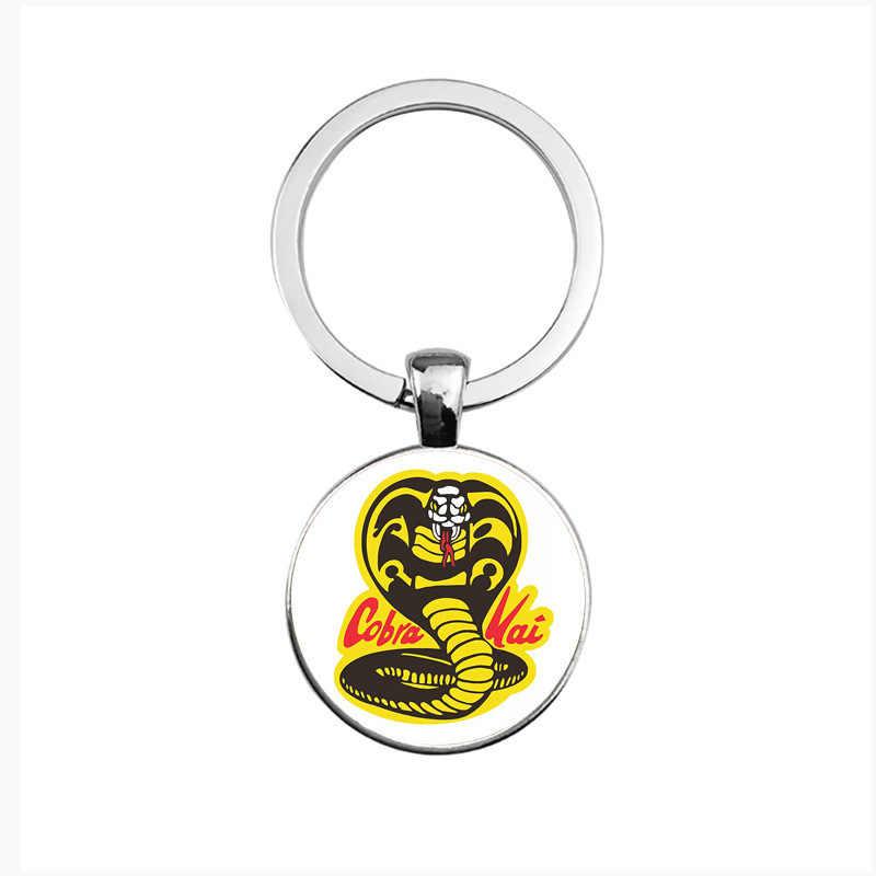Новый стиль 17 Кобра брелок Кобра kai time драгоценный камень ожерелье Джеки Чан брелок Мстители 3 танос