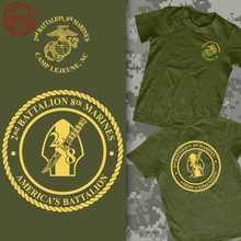 Marine Corps 2Nd Battalion 8Th Marines Camp Lejeune Geiger Outstanding Shirt 2019 New Men T-Shirt Men Summer Style Casual Tee