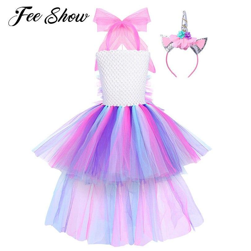 Tienda Online Especial bebé unicornio Niñas Vestidos con tul Correas ...
