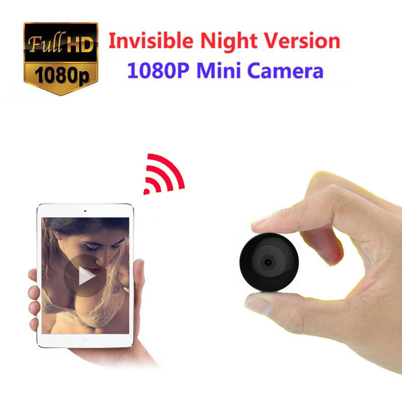 WIFI Mini camera HD 1080P Infrared Night Vision sport DV DVR micro Camcorder Motion Sensor Home baby Monitor support Hidden card