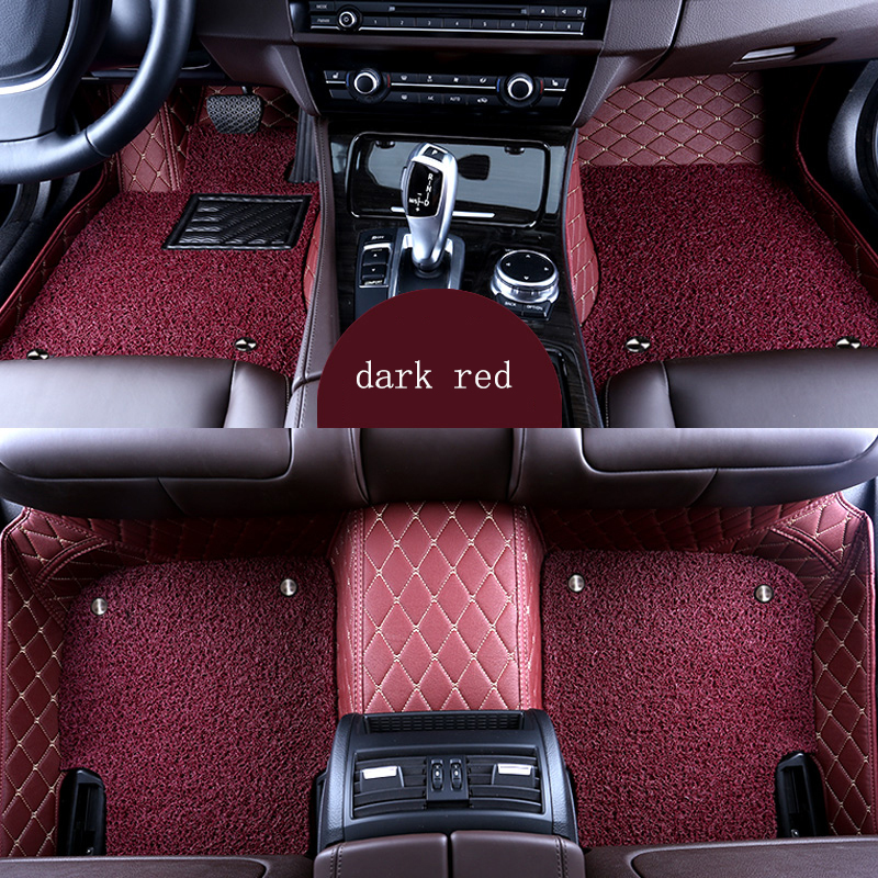 kalaisike Custom car floor mat for Hyundai all models i30 ix35  tucson 2016 creta i20 elantra tecos auto accessories car styling
