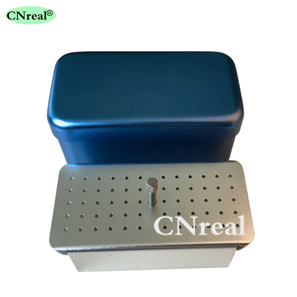 1 piece Autoclave Disinfection Sterilization Holder Block Case Box for Endo Files 60 Holes in Teeth Whitening from Beauty Health
